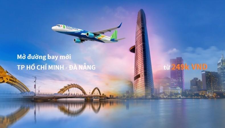 Bamboo Airways mở bán vé đường bay mới TP. Hồ Chí Minh – Đà Nẵng