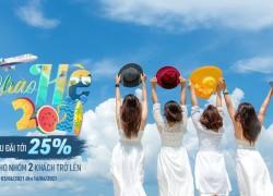 CHÀO HÈ NHẬN ƯU ĐÃI LÊN ĐẾN 25%..