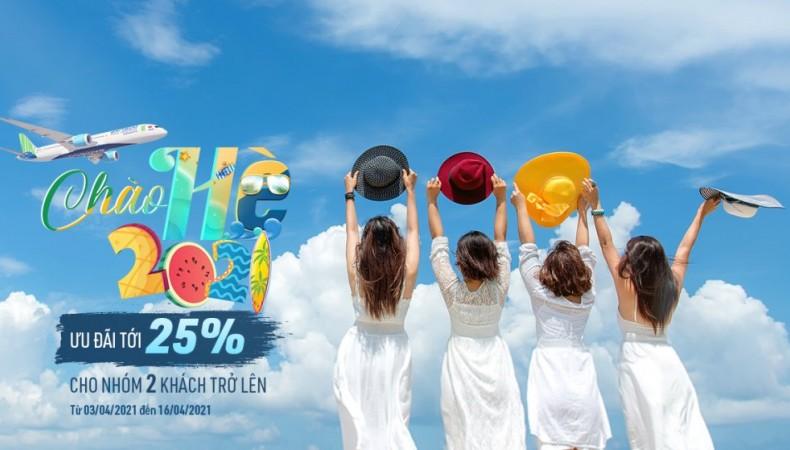 CHÀO HÈ NHẬN ƯU ĐÃI LÊN ĐẾN 25%