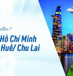 Mở bán đường bay TP. Hồ Chí Minh – Huế/Chu Lai