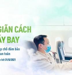 GIÃN CÁCH AN TOÀN CÙNG BAMBOO AIRWAYS