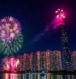 TP.HCM: Mừng Tết Dương lịch 2021, có thể xem bắn pháo hoa ở đâu?
