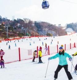 HÀN QUỐC : GANGWON: TRẢI NGHIỆM TRƯỢT TUYẾT - SEOUL - LOTTE WORLD – INCHEON