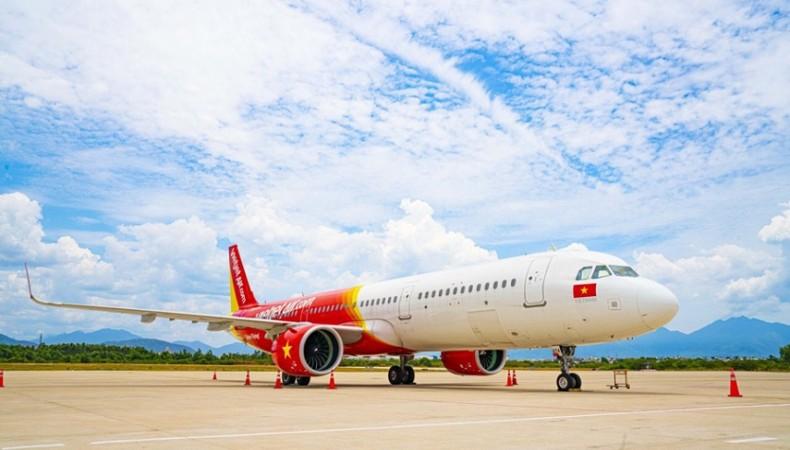 Vietjet Air tăng tần suất tết TPHCM - THANH HÓA