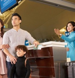 Vietnam Airlines mở quầy thủ tục, cửa lên máy bay riêng cho khách bay giữa  Hà Nội và TP Hồ Chí Minh