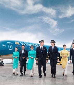 Vietnam Airlines bán vé đ..