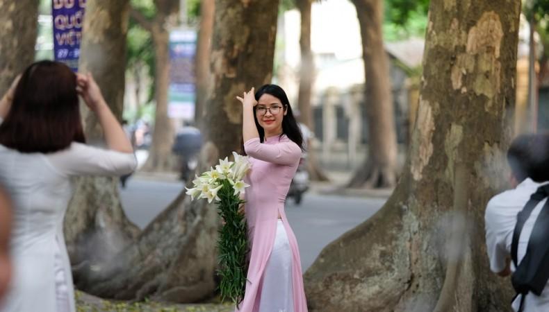 Hoa Loa Kèn Gọi Tháng Tư Khắp Phố Phường Hà Nội